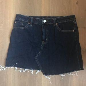 Urban Outfitters BDG DARK wash Denim Skirt